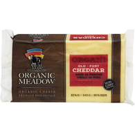 Organic Cheese, Old Cheddar