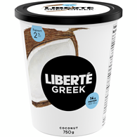 Greek Yogurt, Coconut 2%