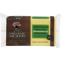 Organic Cheese, Mozzarella