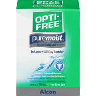 Puremoist Contact Lens Solution, Travel