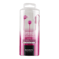 Headphone for Smartphone, Pink MDREX15APPI