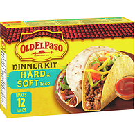 Taco Hard and Soft Shell Dinner Kit
