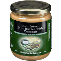 Rainforest Nut Butter with Coconut