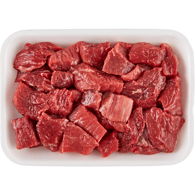 Stewing Beef Cubes, Boneless