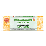 Lactose Free Cheese, Marble Cheddar