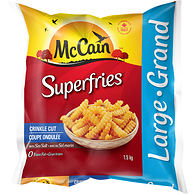 Superfries, Crinkle Cut