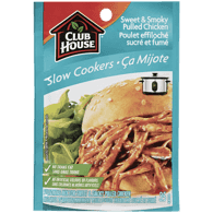 Sweet & Smoky Pulled Chicken Slow Cookers Seasoning Mix