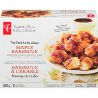 Too Good To Be Wings Gluten-Free Maple Barbecue Boneless Coated Chicken Breast Chunks