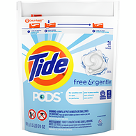 Pods Free and Gentle HE Laundry Detergent