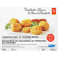 Lobster Mac 'N Cheese Bites