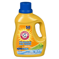 Cold Water Liquid Laundry Detergent, Clean Fresh