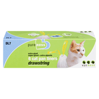 Drawstring Cat Pan Liners, Large