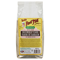 Organic Whole Grain Buckwheat Flour