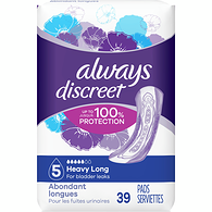 Discreet Pads Maximum Long Length