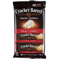 Goûters de cheddar blanc fort Cracker Barrel