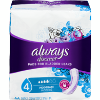 Discreet Pads, Moderate Regular