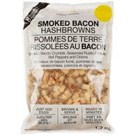 Smoked Bacon Hash Browns