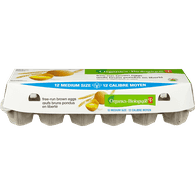 Organic Free Run Brown Eggs, Medium