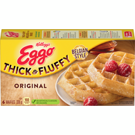 Eggo Waffles Thick and Fluffy, Original