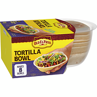 Tortilla Bowls, Soft