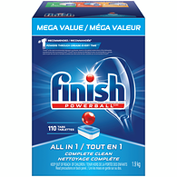 All in 1 Powerball Automatic Dishwasher Detergent, Fresh Scent