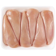 Chicken Breast, Boneless & Skinless, Fillet Removed Club Pack