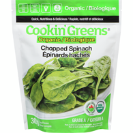 Organic Chopped Spinach