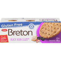 Gluten Free Black Bean Cracker