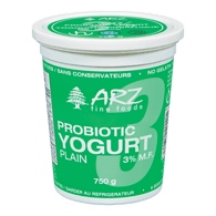 Probiotic Yogurt 3%, Plain