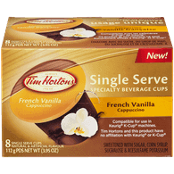 Single Serve Pods, French Vanilla Cappuccino