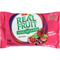 Real Fruit Gummies, Medley