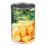 Young Baby Corn in Brine