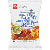 Buffalo Wings And Blue Cheese Chips