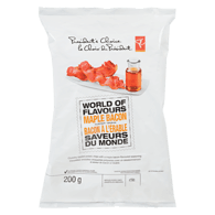 World Of Flavours Maple Bacon Flavour Rippled Potato Chips