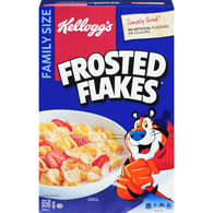 Frosted Flakes Cereal, Family Size