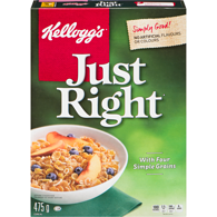 Just Right Cereal