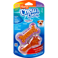 Tiny Dog Chew 'N Clean Dental Duo, Extra Small