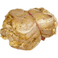 Marinated Bacon Wrapped Chicken Tournedos