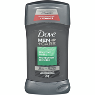 Men+Care Dry Spray Antiperspirant, Sensitive Shield