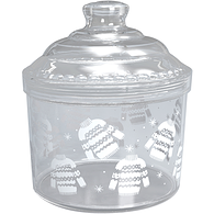 Canister with Decals, Large