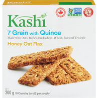 Crunchy Granola & Seed Bar, Honey Oat Flax