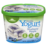 Frozen Yogurt, Blueberry