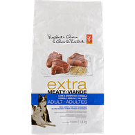 Extra Meaty Adult Dry Dog Food, Lamb & Brown Rice