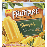 Frozen Fruit Bars, Pineapple