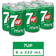 7Up Mini Cans