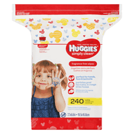 Simply Clean Fragrance Free Wipes Refill
