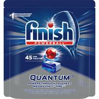 Quantum Max Power & Free Dishwasher Detergent Capsules with Hydrogen Peroxide