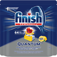 Quantum Max Powerball Automatic Dishwasher Detergent, Lemon Sparkle