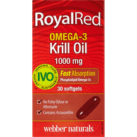 Royal Red Omega-3 Krill Oil