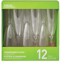Disposable Elegance Champagne Glass